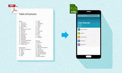 The evolution of user manuals in the mobile era and beyond