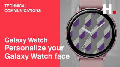 [Galaxy Watch] Personalize your Galaxy Watch face