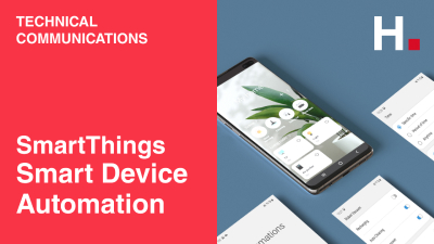 [Samsung_SmartThings] Smart Device Automation