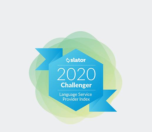 2020 Challenger Language Service Provider
