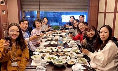 중국 법인 우한팀 본사 방문기